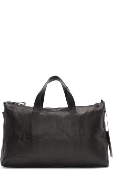 Marsèll - Black Leather Monouso Duffle Bag