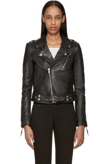BLK DNM - Black Leather 1 Jacket