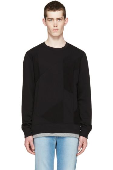 BLK DNM - Black Patchwork 61 Pullover