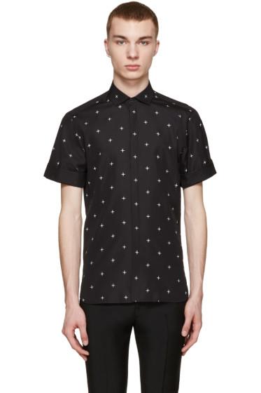 Neil Barrett - Black North Star Shirt