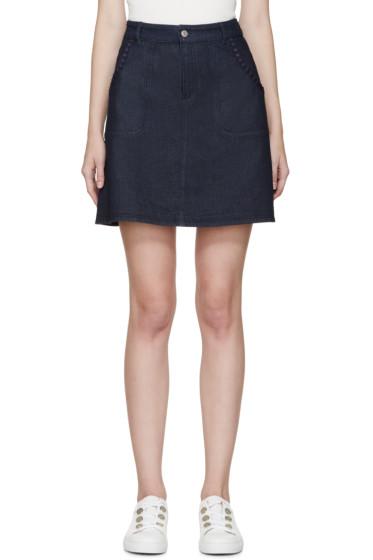 See by Chloé - Blue Denim Skirt