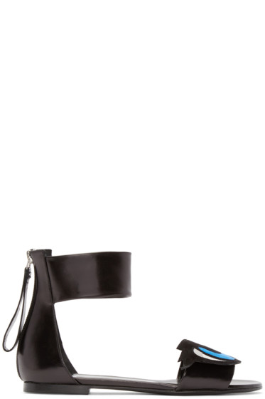 Pierre Hardy - Black Oh Roy Sandals