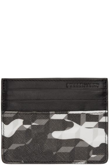 Pierre Hardy - Black Printed Card Holder