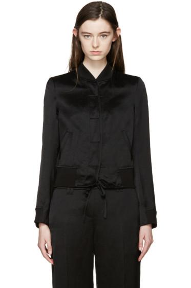 Ann Demeulemeester - Black Delight Bomber Jacket