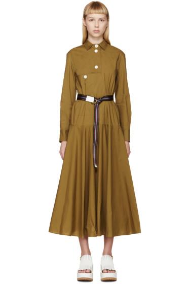 Marni - Ochre Trench Dress