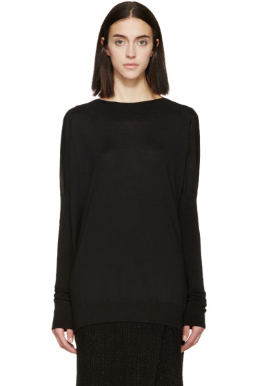 Marni - Black Wool & Silk Sweater