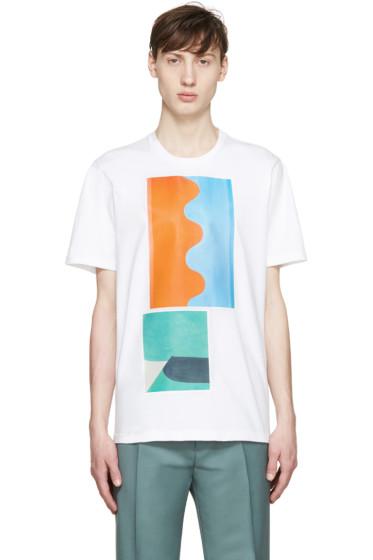 Marni - White Painterly Jack Davidson Edition T-Shirt