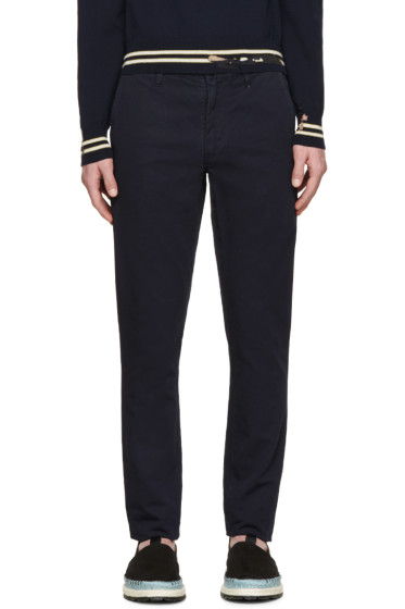 Paul Smith Jeans - Navy Slim-Fit Chinos