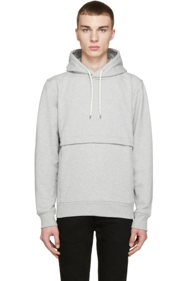 Paul Smith Jeans - Grey Pocket Hoodie