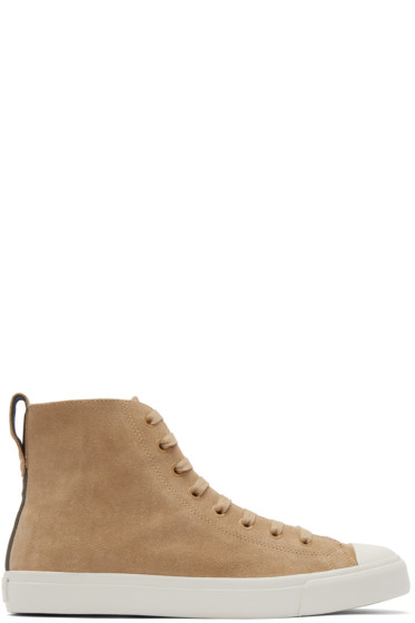 Paul Smith Jeans - Tan Allegra High-Top Sneakers