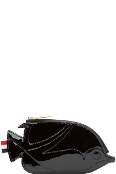Thom Browne - Black Trigger Reef Fish Coin Pouch