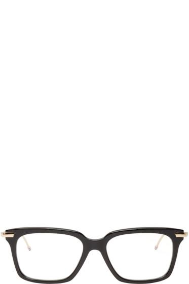 Thom Browne - Black & Gold Optical Glasses