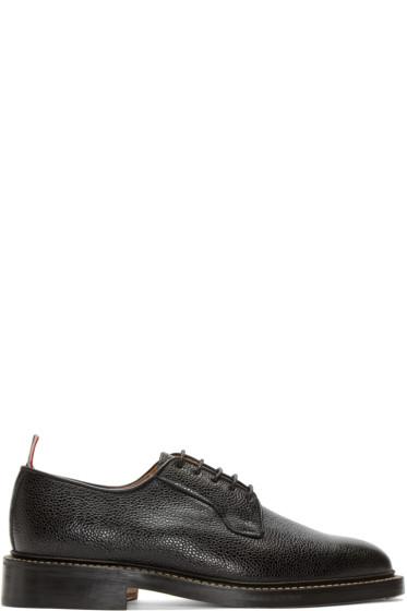 Thom Browne - Black Leather Derbys