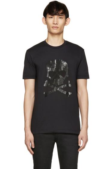 Markus Lupfer - Black Pirate Skull T-Shirt