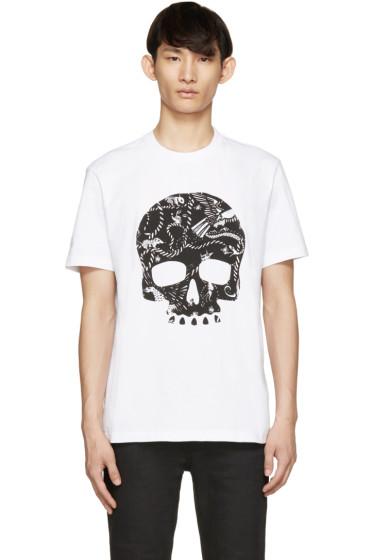 Markus Lupfer - White Animals Skull T-Shirt