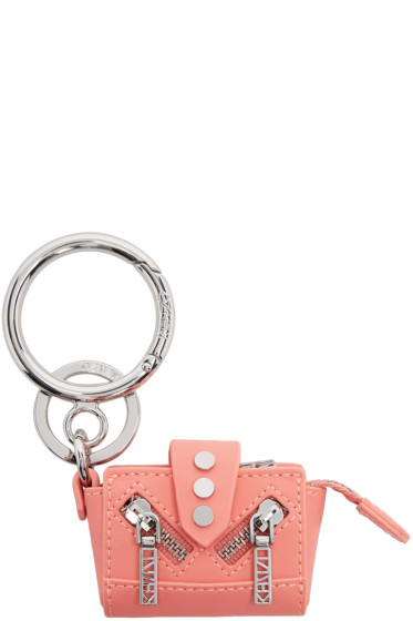Kenzo - Pink & Silver Kalifornia Keychain