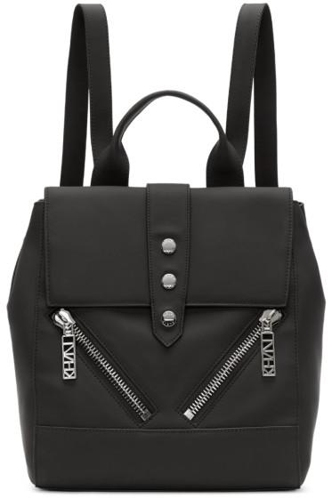 Kenzo - Black Leather Backpack