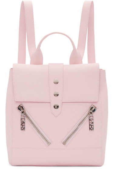 Kenzo - Pink Leather Backpack