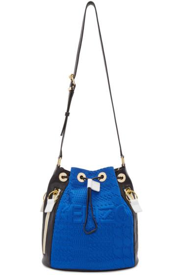 Kenzo - Blue & Yellow Kombo Bucket Bag