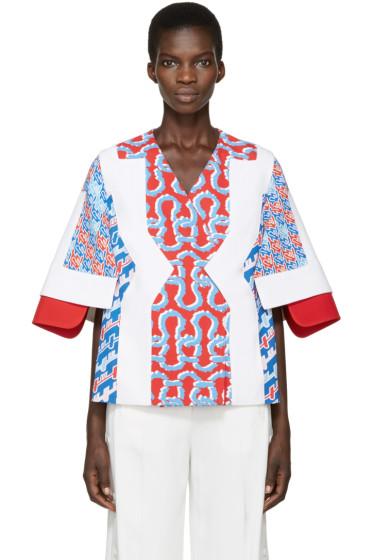 Kenzo - Tricolor Patterned Jacket