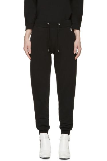 Kenzo - Black Cotton Lounge Pants