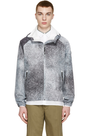 Kenzo - Grey Speckled Shell Jacket