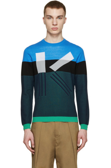Kenzo - Multicolor Abstract K Sweater