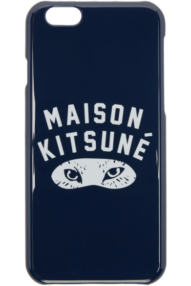 Maison Kitsuné - Navy Fox Eyes iPhone 6 Case