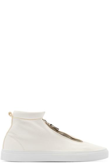 Diemme - Ivory Leather Fontesi Sneakers