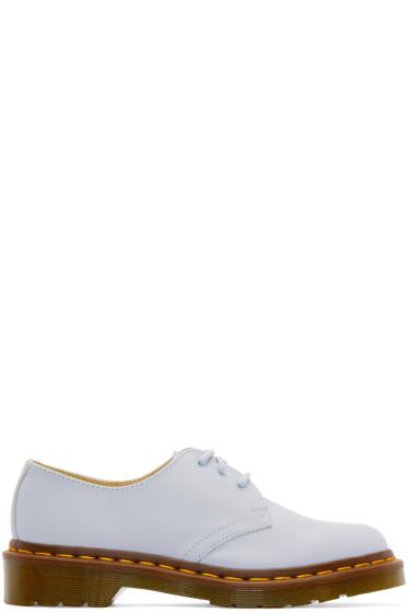 Dr. Martens - Blue Three-Eye 1461 Shoes