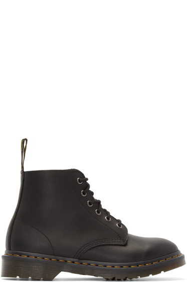 Dr. Martens - Black Six-Eye Ali Boots