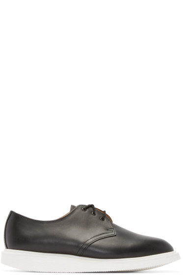 Dr. Martens - Black Leather Torriano Oxfords