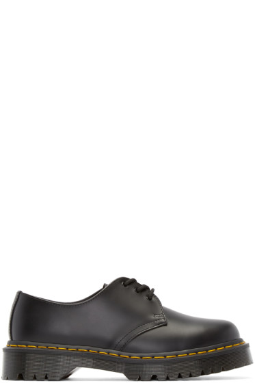 Dr. Martens - Black Leather 1461 Derbys