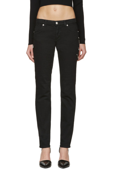 Versus - Black Safety Pin Jeans