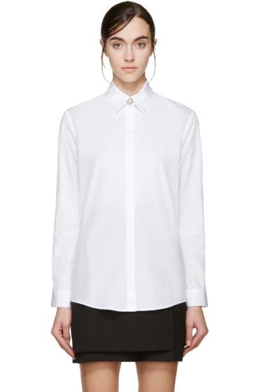 Versus - White Lion Ornament Shirt