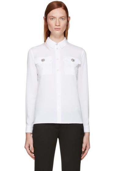 Versus - White Lion Medallion Shirt