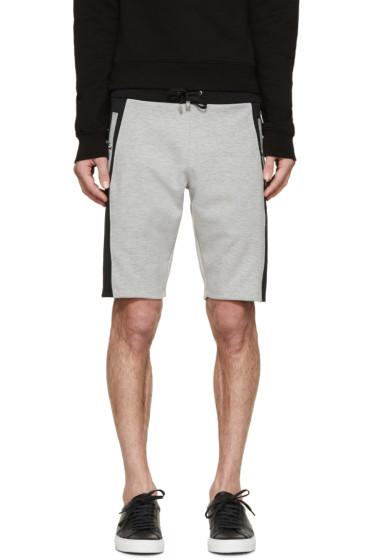Versus - Grey & Black Sweat Shorts