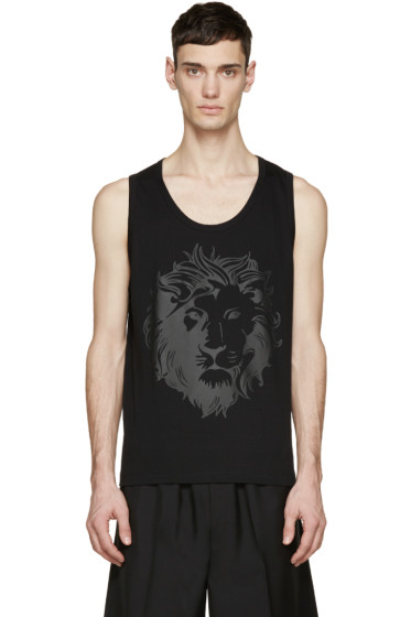 Versus - Black Lion Tank Top