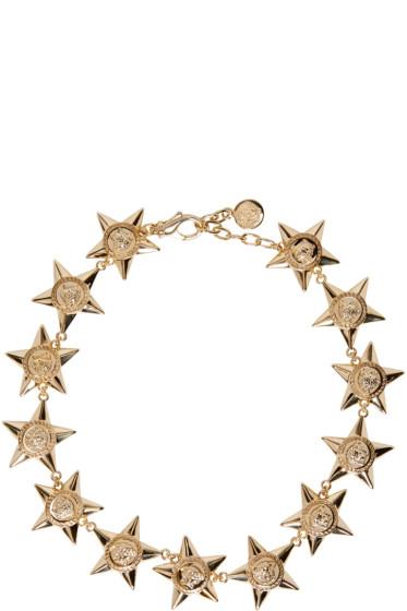 Versace - Gold Medusa Stars Necklace