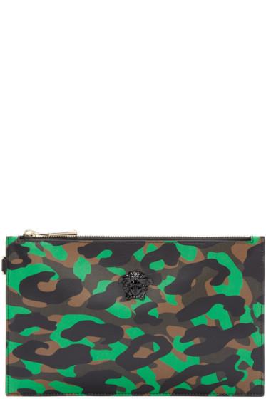 Versace - Multicolor Camopard Pouch