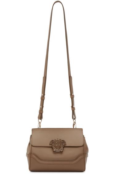 Versace - Brown Small Palazzo Shoulder Bag