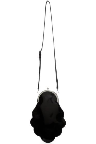 Simone Rocha - Black Scalloped Shoulder Bag