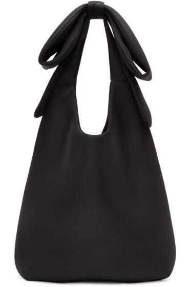Simone Rocha - Black Neoprene Large Dumpling Bag