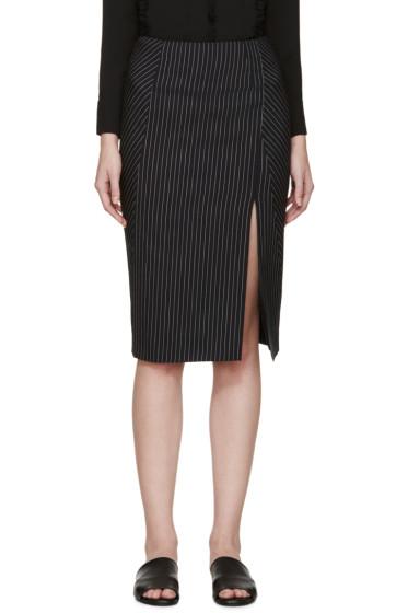 Altuzarra - Navy Pinstripe Matisse Skirt