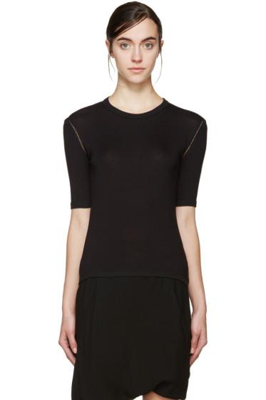 Denis Gagnon - SSENSE Exclusive Black Cotton T-Shirt