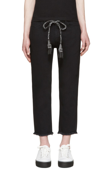 Sasquatchfabrix - Black Tapered Trousers