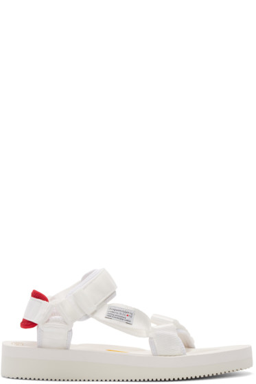 Sasquatchfabrix - White Suicoke Edition Sandals