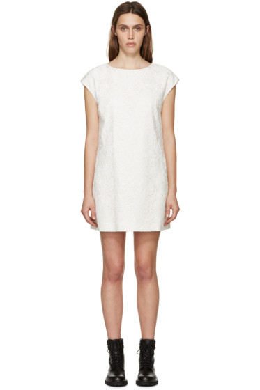 Saint Laurent - Ivory Lace Dress