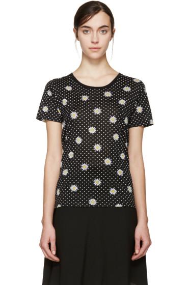 Saint Laurent - Black Daisy T-Shirt