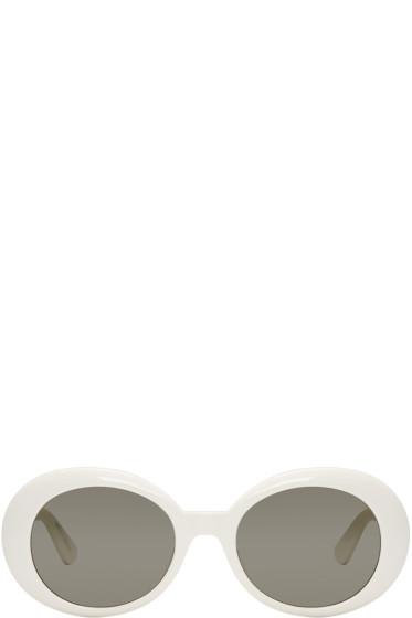 Saint Laurent - Ivory SL 98 California Sunglasses